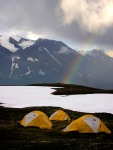 Peaceful Rainbows at BaseCamp