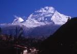Mt. Huascaran from Huaraz