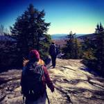 Hiking on Granite in Quietude